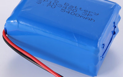 3.7V LiPo Battery Packs LP103450 3P 5400mAh In Stock