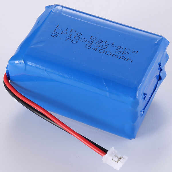 3.7V LiPo Battery Packs LP103450 3P 5400mAh In Stock