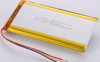 Best Seller 3.7V Rechargeable LiPo Battery LP1066121 10000mAh