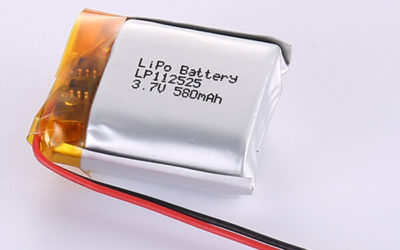 3.7V Square LiPo Battery LP112525 580mAh