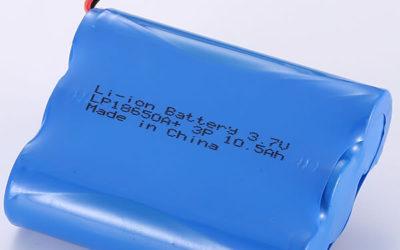 3.7V Rechargeable Li-ion Battery LP18650A+ 3P 10500mAH