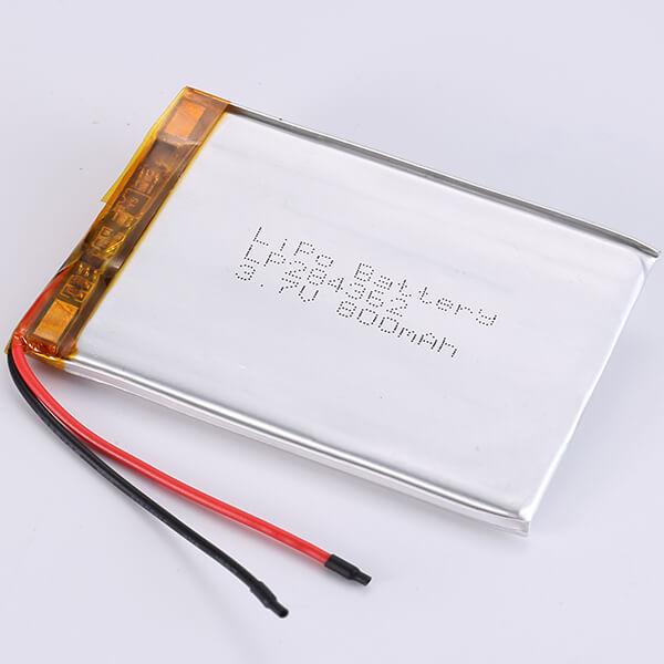 3.7V LiPo Battery LP284362 800mAh for Evaluate