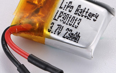 Tiny Rechargeable LiPo Battery 3.7V LP301013 23mAh