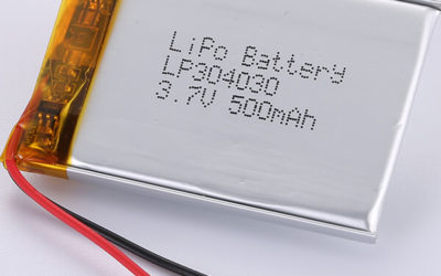Premium Quality LiPo Battery LP304030 3.7V 500mAh