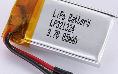 3.7V Rechargeable LiPo Battery LP321324 85mAH