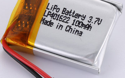100mAh LiPo Battery LP401622 3.7V Made In China