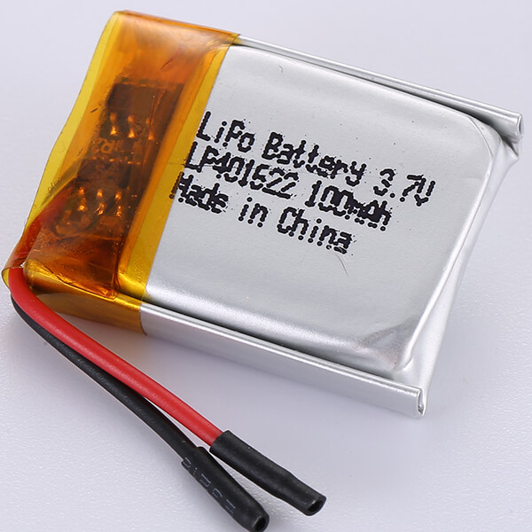 100mAh LiPo Battery LP401622 3.7V Made In China