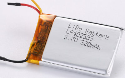 3.7V LiPo Battery LP402535 320mAh from Experienced Manufacturer
