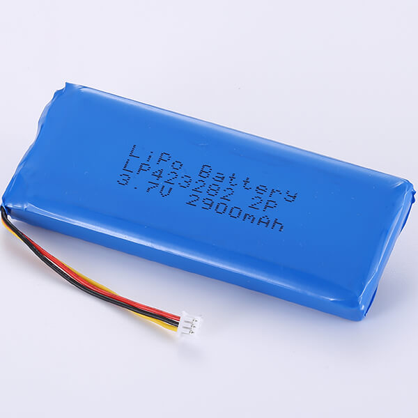 3.7V Rechargeable LiPo Battery Packs LP423282 2P 2900mAh
