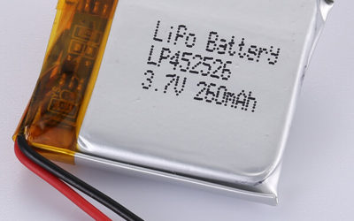 Custom LiPo Battery 3.7V LP452526 260mAh