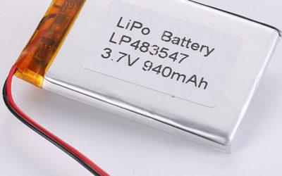LiPo Battery Supplier LP483547 940mAh 3.7V