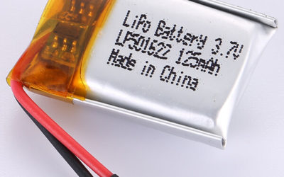 Smallest 3.7V LiPo Battery LP501622 125mAH