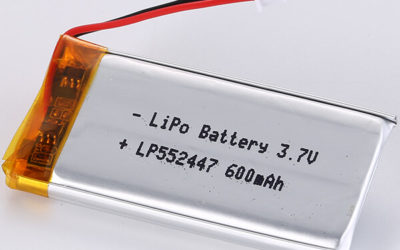 Hot Seller LiPo Battery LP552447 3.7V 600mAh