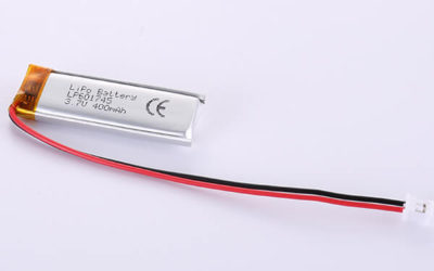 Narrow LiPo Battery 3.7V LP601745 400mAh