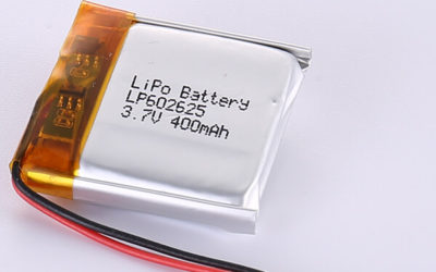 Standard 3.7V LiPo Battery LP602625 400mAh
