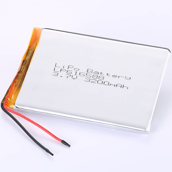 3.7V Rechargeable LiPo Battery LP616588 3200mAh