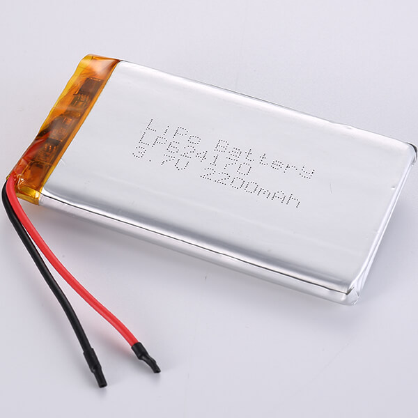 High-Reliability LiPo Battery Manufacturer with LP624170 2200mAh 3.7V