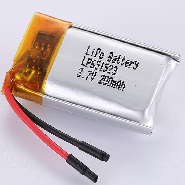 Standard LiPo Battery 3.7V LP651523 200mAh