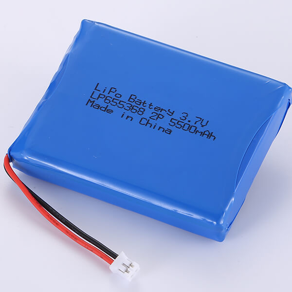 LiPo Battery Packs 3.7V LP655368 5500mAh Rechargeable Battery