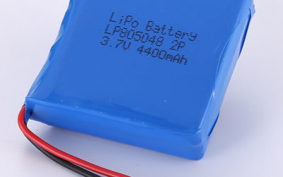 3.7V LiPo Battery Packs LP805048 2P 4400mAh 16.28Wh