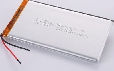 Long 3.7V Rechargeable LiPo Battery LP8070120 10000mAH