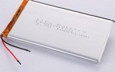 Long 3.7V Rechargeable LiPo Battery LP8070120 10000mAH