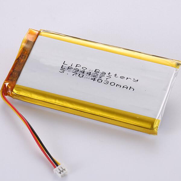 Rechargeable LiPo Battery 3.7V LP944277 4030mAh