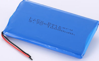 High Capacity LiPo Battery 3.7V LP9866115 10000mAh 37Wh
