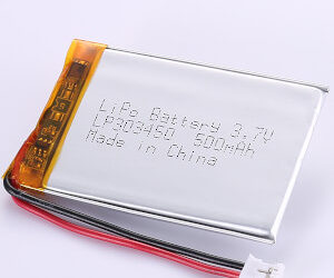 3.7V Rechargeable LP303450 LiPo Battery 500mAh