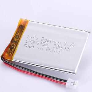 3.7V Rechargeable LP303450 LiPo Battery 500mAh