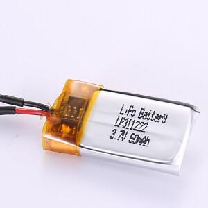 3.7V Rechargeable LiPo Battery LP311222 60mAh