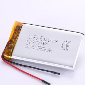 560mAh LiPo Battery LP373048 3.7V For Sales