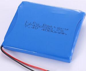 7.4V LiPo Battery Packs LP426580 2S 4000mAh
