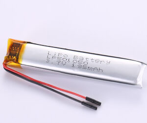LP501050 195mAh 3.7V Narrow LiPo Battery