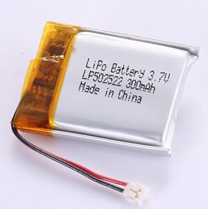 3.7V Standard LiPo Battery LP502522 300mAh