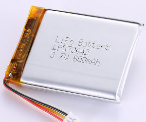 800mAh LiPo Battery LP573442 3.7V High Quality