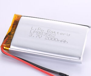3.7V 2000mAh LiPo Battery LP883562 Supplier